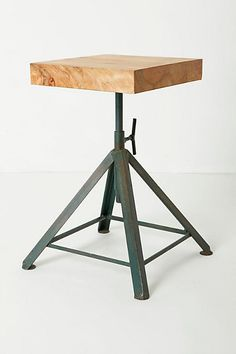 Side table; Scuplter's table