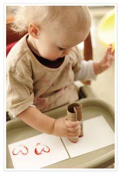 #Toddler Valentine's Craft #valentines