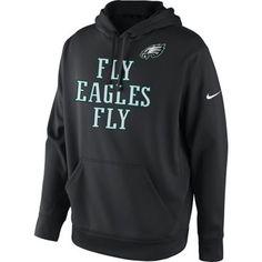 Nike Philadelphia Eagles Classic Team Issue Hoodie - Ash ...