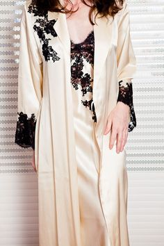 Trousseau: Long nightgowns and silk robes | Violette Lingerie | Lingerie, Swimwear, Cruisewear, Nightwear, Hosiery ...