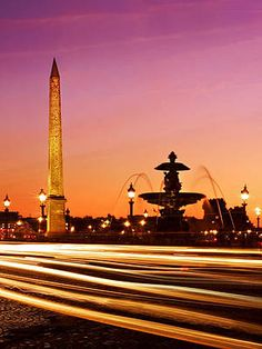 Place De La Concorde At Night / Paris Print by Barry O Carroll Concorde, Monuments, Lise Charmel, Triomphe, Vacation Spots, Dream Vacations, Paris Party, You Are The World, Most Beautiful Cities