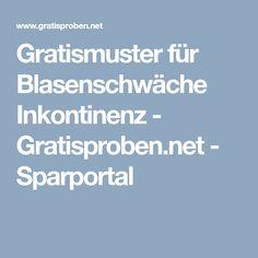 Gratismuster für Blasenschwäche Inkontinenz - Gratisproben.net - Sparportal
