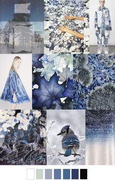 SS 2017: PRINT/GRAPHIC/COLOR INSPIRATIONS - WINTER NIGHTS - FASHION VIGNETTE: S/S 2017