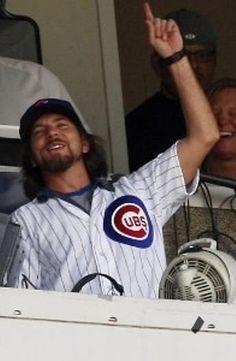 mlb / baseball / chicago / cubs / jersey / eddie vedder