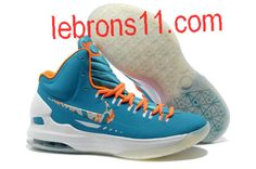 Nike Zoom KD V 5 Easter Turquoise Blue Bright Citrus Fiberglass Shoes