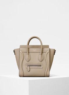 Nano Luggage bag in drummed calfskin  2f72d49acbf2e