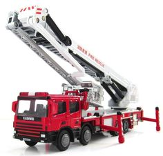 Kaidiwei Fire Engine with extension ladder.