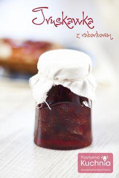 #truskawki z #rabarbar.em - domowe #przetwory  http://pozytywnakuchnia.pl/dzem-z-truskawek-z-rabarbarem/  #przepis #kuchnia #konfitura