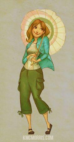 """""""Kaylee from Firefly"""" (by ~kelleybean86 on deviantART)"""