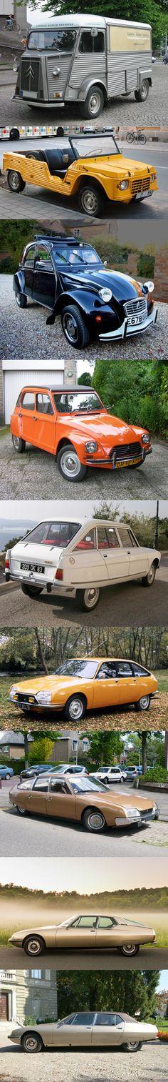 1975 Citroën - HY / Mehari / 2CV / Dyane / Ami / GS / CX / SM / SM Opera Chapron / France / #yearlist