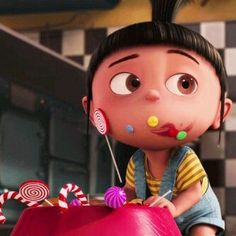 Agnes ❤ I wish I had a baby sister this cute