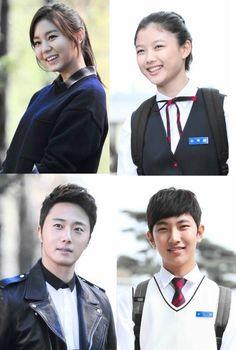 """Golden Rainbow"" - UEE and Kim Yoo Jung as Kim Baek Won, and Jung Il Woo and Oh Jae Moo as Seo Da Young"