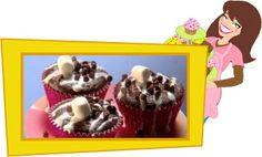 Chocolate Marshmallow Madness Cupcakes   PER SERVING (1 glazed and topped cupcake): 113 calories, 2g fat, 230mg sodium, 21.5g carbs, 0.75g fiber, 13.5g sugars, 2g protein -- PointsPlus® value 3*
