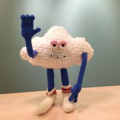 Cloud Guy Trolls Amigurumi Crochet Pattern - LittleTumbleFriends