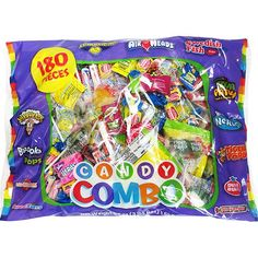 Our Candy Combo Bag contains timelessly tasty treats kids and grown-ups love! Candy Combo Bag includes Airheads, Swedish Fish, Nerds, Smarties, Warheads and more. Winter Party Themes, Party Giveaways, Sour Candy, Party Kit, Ideas Party, Bulk Candy, Candy Party, Party Favors, Kids Party Supplies