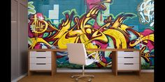 Modern Wall Murals Stickers for Teenagers Boys and Girls Bedroom