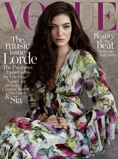 Lorde for Vogue Australia July 2015, top magazines, lifestyle magazines