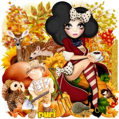 "MI RINCÓN GÓTICO: CT for GoF Designs ""Lovely Autumn"""