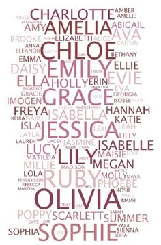 great names for girls | names in england and wales completely dominated by european names