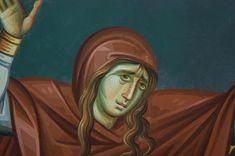 Iconographer Dimitris Maniatis – icoana Byzantine Icons, Byzantine Art, Life Of Christ, Orthodox Icons, Vignettes, My Arts, Princess Zelda, Face, Painting