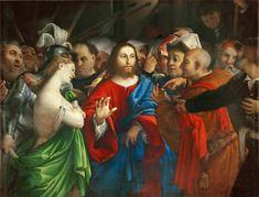Lorenzo Lotto - The Adultress