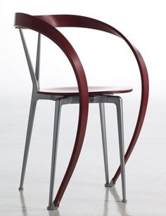 I rarely dislike an original chair design, but this one by Andrea Branzi Revers Chair is not my thing at all.