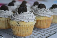 Cookies n' Cream Cupcakes - though I think I'd have to go for a chocolate cupcake