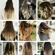 LOVE the short hair ombre
