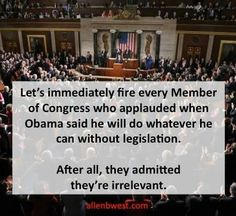 Have they ever READ the Constitution?  Do they know what job they were elected for?