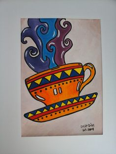 tasa de cafe - Colombia