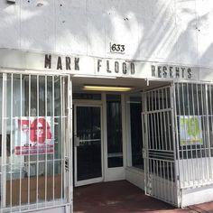The exterior of Mark Flood Resents in Miami Beach (all photos courtesy Mark Flood Resents)