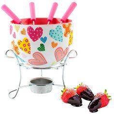 fondue Banquet, Fondue, Planter Pots, Tableware, Kitchen, Hearts, Dinnerware, Cooking, Tablewares