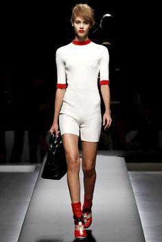 Prada Spring 2013 Ready-to-Wear Fashion Show - Pauline Hoarau