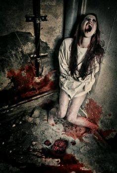 Insane Asylum - Horror Art