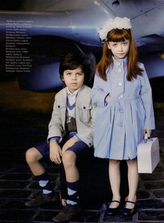 Vogue Russia Kids Editorial Fashion Editorial, Pre-Spring 2010 Shot #4