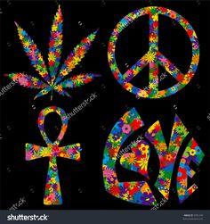 stock-vector-four-flower-filled-s-symbols-pot-leaf-peace-symbol-ankh-and-love-9781249.jpg (1500×1600)
