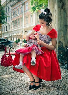 Sweet Cherry dress. $95.00, via Etsy.