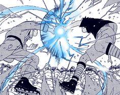 Rasengan VS Chidori // idk i think this was a pretty badass moment