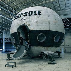 ゚Д゚) こっ、これはもしや「ドラゴンボール」のカプセルハウスではないか