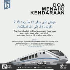 18. Doa menaiki kendaraan Hijrah Islam, Doa Islam, Words Quotes, Qoutes, Life Quotes, Safe Journey, Noble Quran, Postive Quotes, Learn Islam