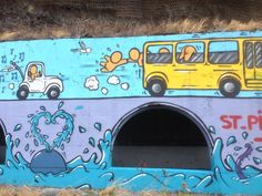 111g. Fresque du tunnel de la route du littoral by Jace