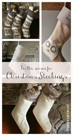 Get inspired by a round up of Christmas stockings!