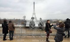 Paris then and now....