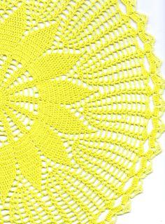 Wedding Doily 18inch Crochet doily lace doilies by DoilyWorld, £12.00