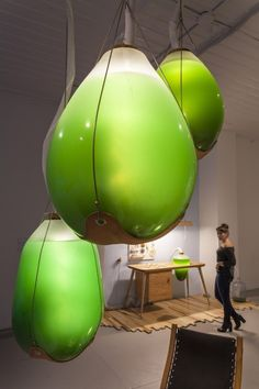 Photosynthetic Furniture: Living Fixtures Produce Light