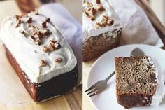 Maple Banana Bread With 'Cream Cheese' Frosting [Vegan, Gluten-Free] | One Green Planet