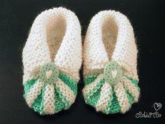 Miss Julia's Vintage Knit & Crochet Patterns: Free Patterns - 30 Baby Booties to Knit - Crochet