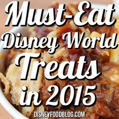 Must Eat Disney World Treats 2015 - Disney Food Blog (Did someone say Hawaiian shaved ice?!)