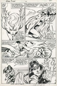 Alpha Flight #12, page 26 (1984) - Art by John Byrne & Andy Yanchus