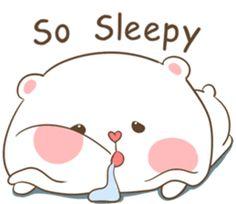TuaGom : Puffy Bear by Tora Jung sticker